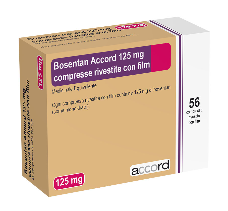 BOSENTAN 125 Mg 4x14T Copia