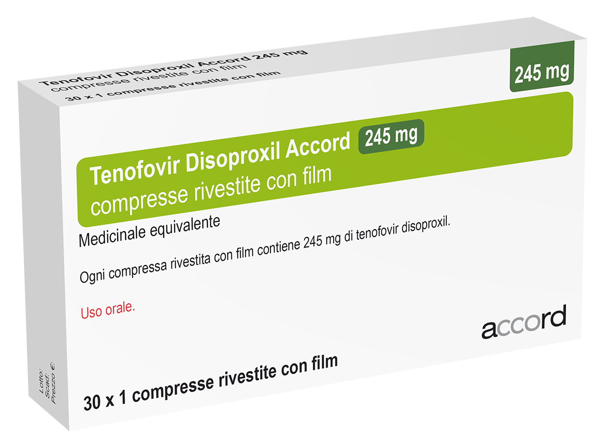 TENOFOVIR DISOPROXIL 245mg Copia