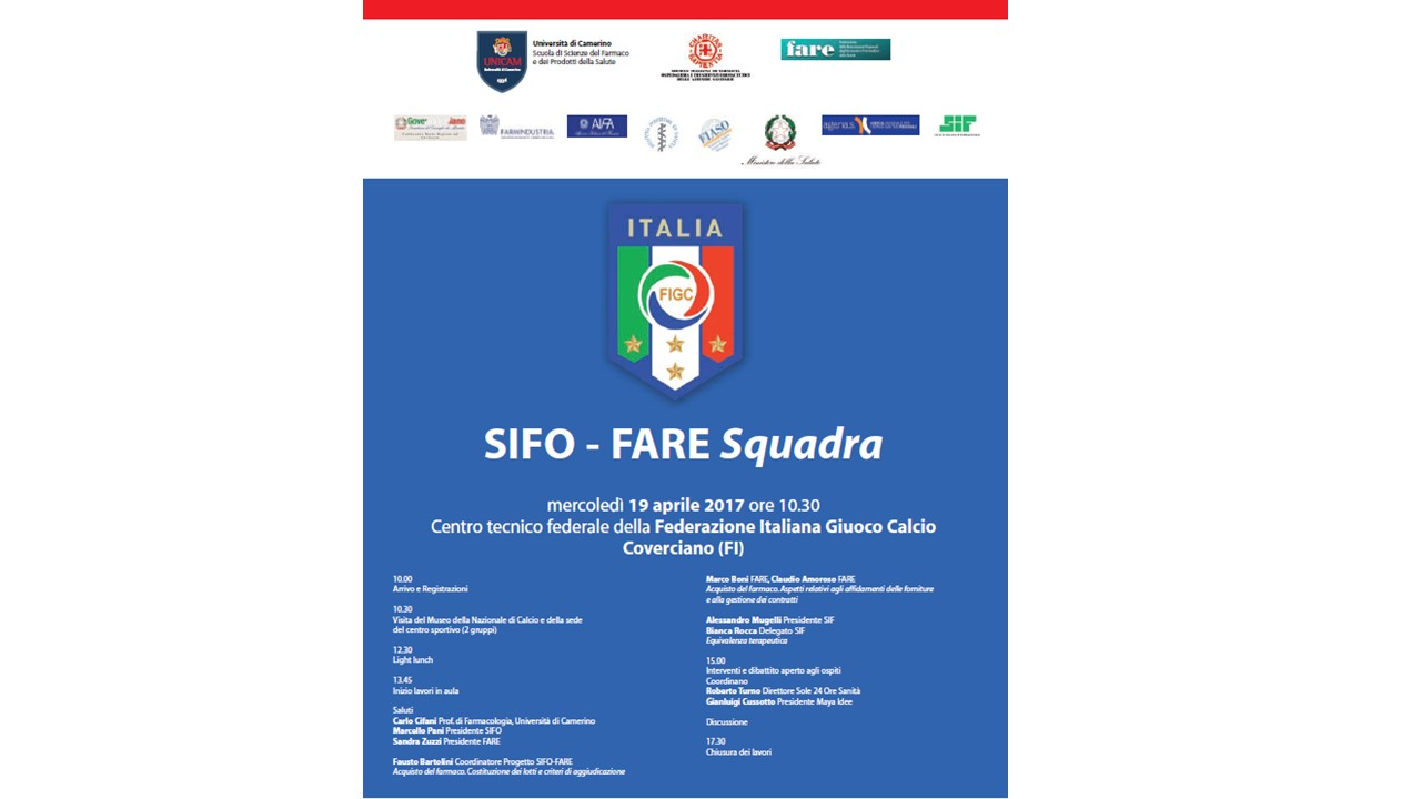 Progetto SIFO-FARE